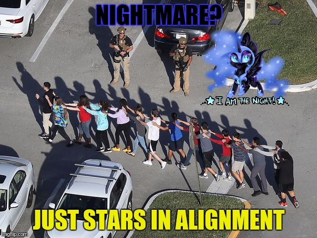 NIGHTMARE? JUST STARS IN ALIGNMENT | made w/ Imgflip meme maker