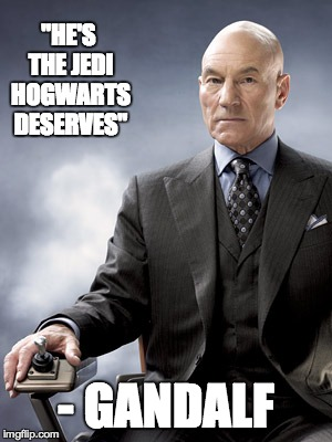 "The Greatest Movie Quote of All Time | ""HE'S THE JEDI HOGWARTS DESERVES"" - GANDALF 