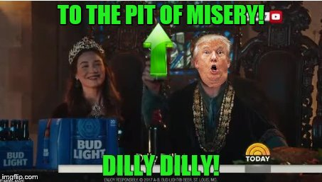 TO THE PIT OF MISERY! | made w/ Imgflip meme maker