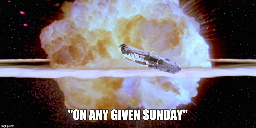 "-Bert Bell | ""ON ANY GIVEN SUNDAY"" 