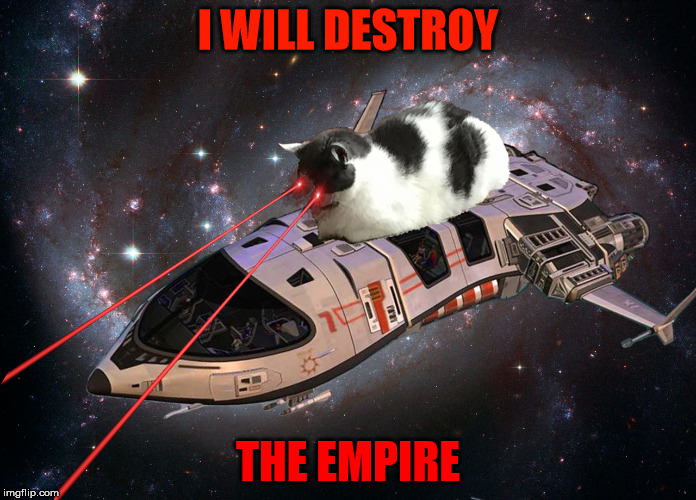 I WILL DESTROY THE EMPIRE | made w/ Imgflip meme maker