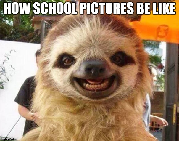 HOW SCHOOL PICTURES BE LIKE | image tagged in school | made w/ Imgflip meme maker