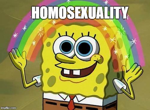 251h4w spongebob rainbow memes imgflip