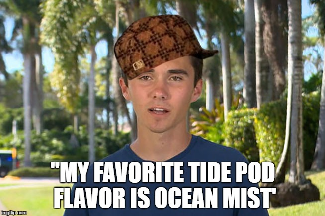 "Favorite Tide Pod Flavor |  ""MY FAVORITE TIDE POD FLAVOR IS OCEAN MIST' 