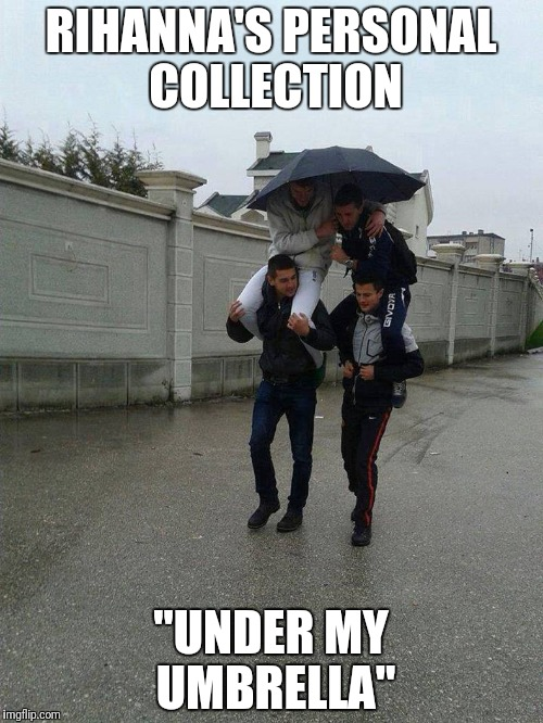 "Umbrella | RIHANNA'S PERSONAL COLLECTION ""UNDER MY UMBRELLA"" 