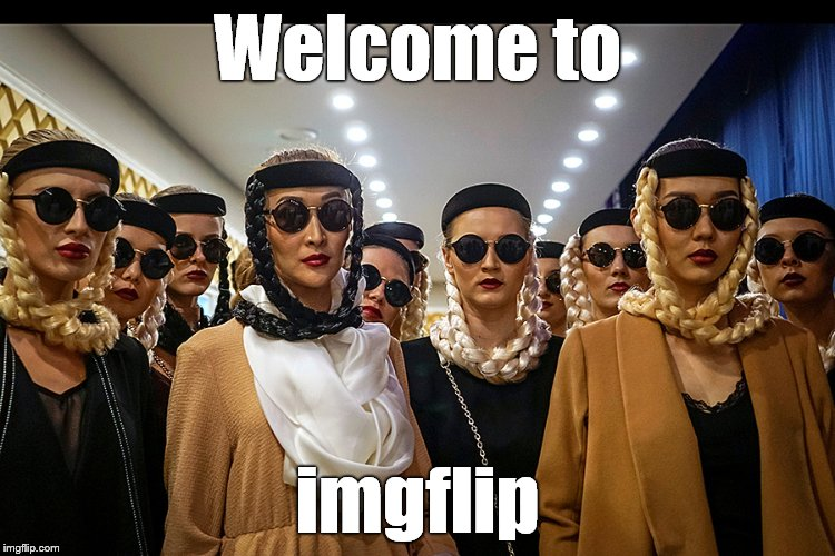 Yes, we're different | Welcome to imgflip | image tagged in yes we're different | made w/ Imgflip meme maker