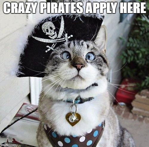 Spangles | CRAZY PIRATES APPLY HERE | image tagged in memes,spangles | made w/ Imgflip meme maker