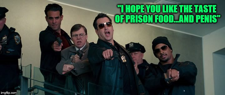 "The Other Guys Damon Wayans ""I hope you like the taste of prison food and penis"" 