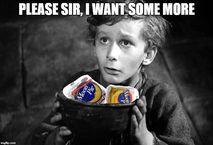 Tiny Tim | PLEASE SIR, I WANT SOME MORE | image tagged in oliver twist please sir | made w/ Imgflip meme maker