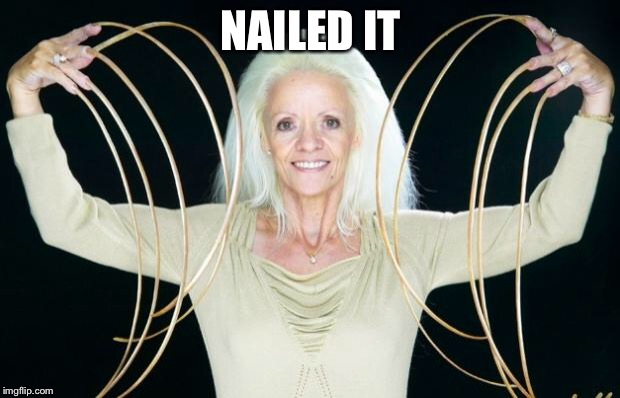 Nails | NAILED IT | image tagged in nails | made w/ Imgflip meme maker