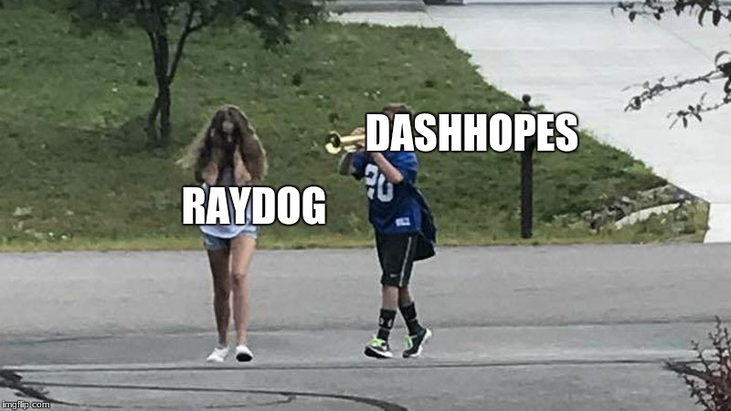 soon dashhopes will be #1 | DASHHOPES RAYDOG | image tagged in trumpet boy object labeling | made w/ Imgflip meme maker