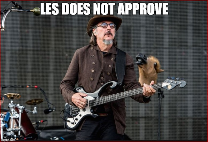 LES DOES NOT APPROVE | made w/ Imgflip meme maker