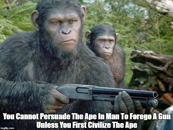 """Apes and Guns"" 