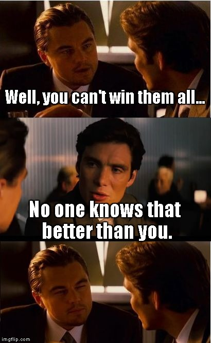 Pooor Leo | Well, you can't win them all... No one knows that better than you. | image tagged in memes,inception | made w/ Imgflip meme maker