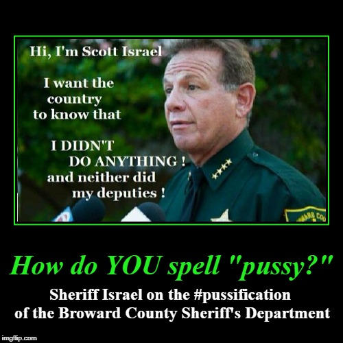 "How do YOU spell ""pussy?"" 