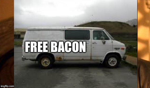 FREE BACON | made w/ Imgflip meme maker