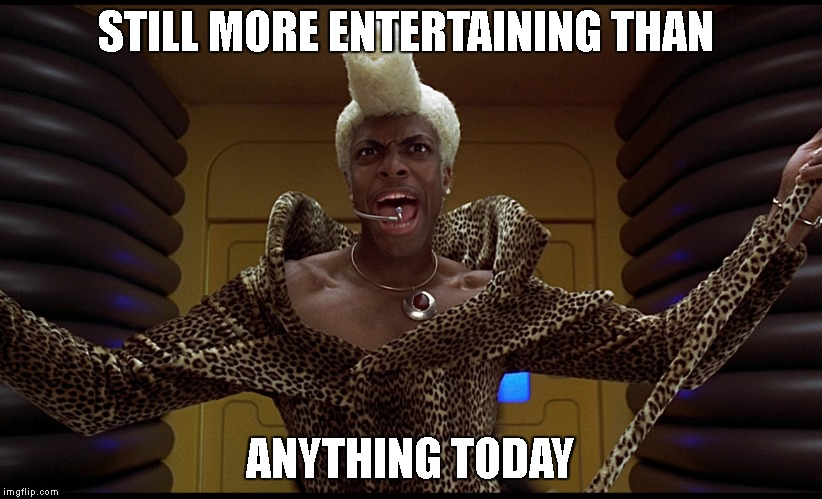 Ruby Rod!!! | STILL MORE ENTERTAINING THAN ANYTHING TODAY | image tagged in ruby rod,fifth element,leeloo,corbin,1990's | made w/ Imgflip meme maker