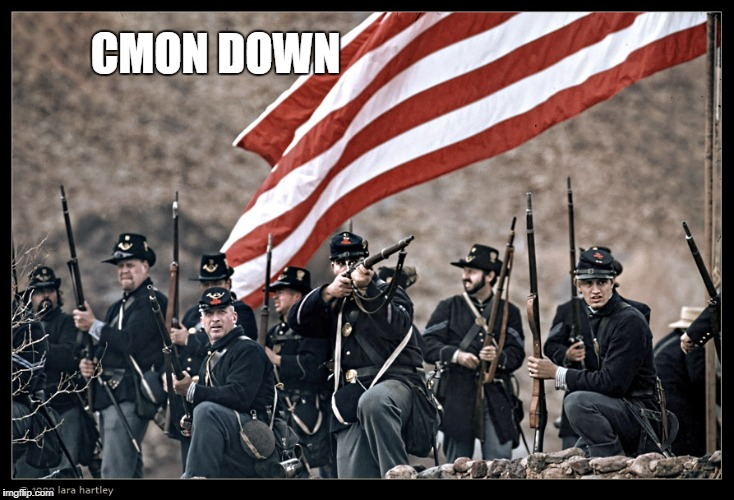 Long Live the UNION | CMON DOWN | image tagged in long live the union | made w/ Imgflip meme maker