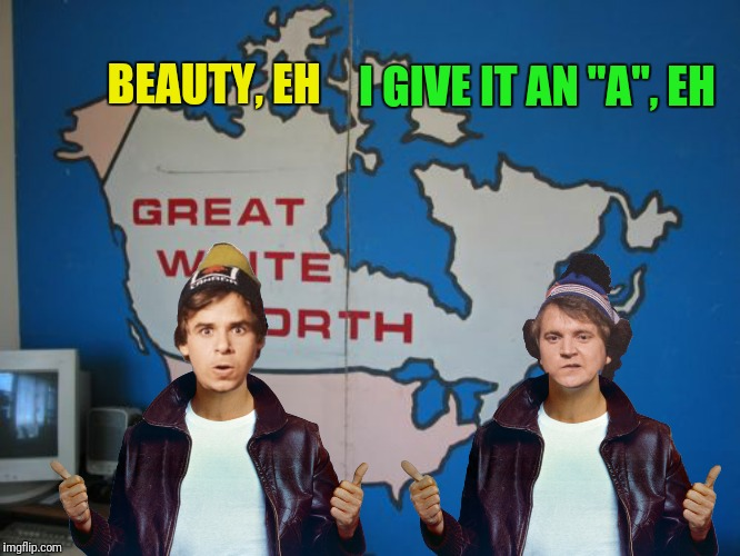 "BEAUTY, EH I GIVE IT AN ""A"", EH 