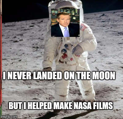 I NEVER LANDED ON THE MOON BUT I HELPED MAKE NASA FILMS | made w/ Imgflip meme maker