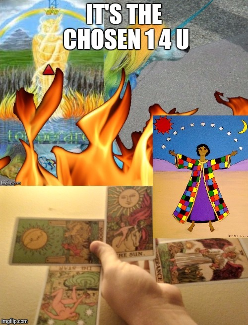 IT'S THE CHOSEN 1 4 U | made w/ Imgflip meme maker