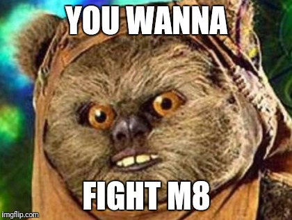 YOU WANNA FIGHT M8 | made w/ Imgflip meme maker