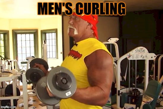 MEN'S CURLING | made w/ Imgflip meme maker