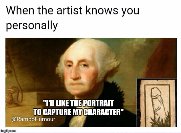 "The first nude?  | ""I'D LIKE THE PORTRAIT TO CAPTURE MY CHARACTER"" 