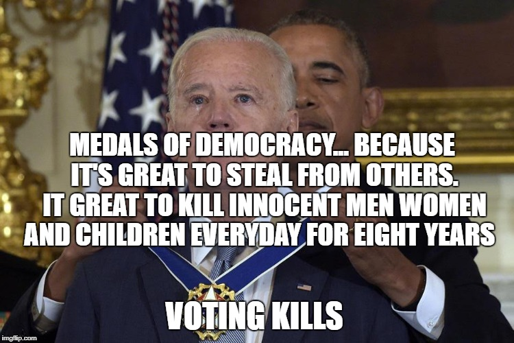 Joe Biden Freedom Award - Imgflip