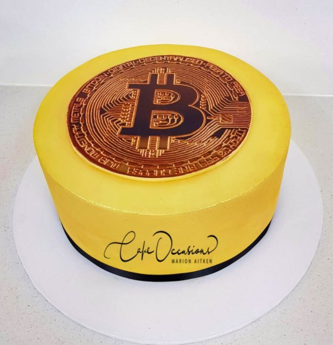Bitcoin Happy Birthday Cake Blank Template Imgflip