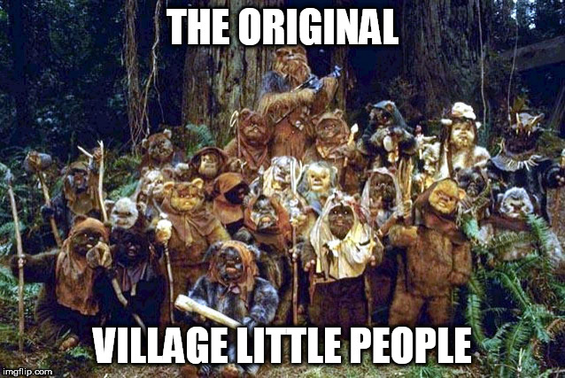 THE ORIGINAL VILLAGE LITTLE PEOPLE | made w/ Imgflip meme maker