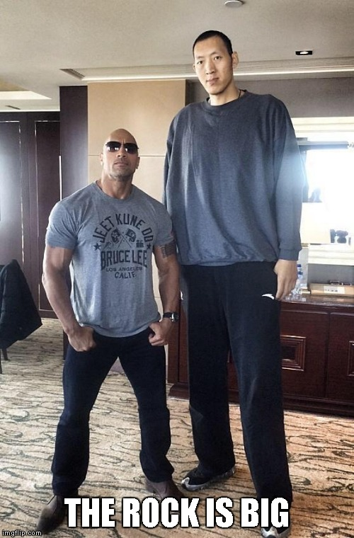 THE ROCK IS BIG | made w/ Imgflip meme maker