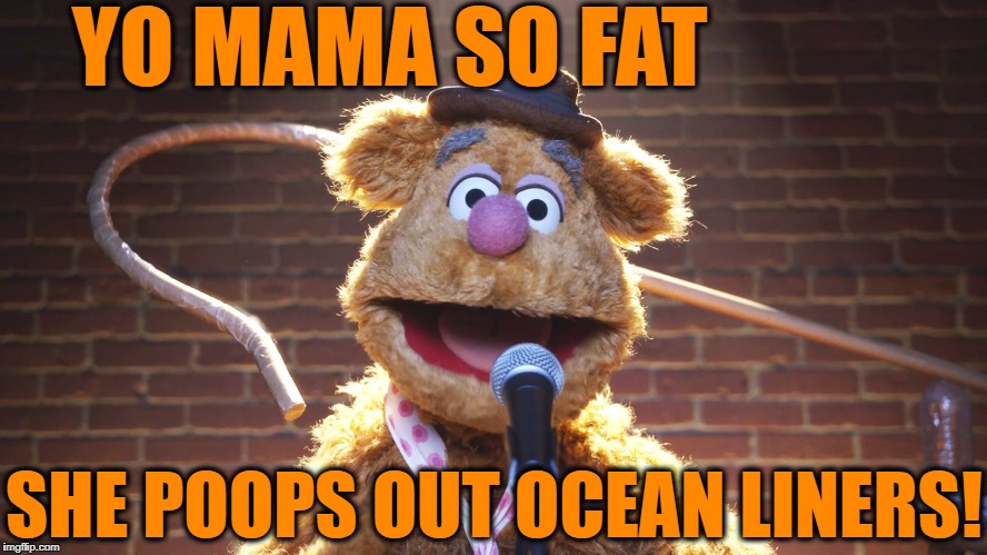 YO MAMA SO FAT SHE POOPS OUT OCEAN LINERS! | made w/ Imgflip meme maker