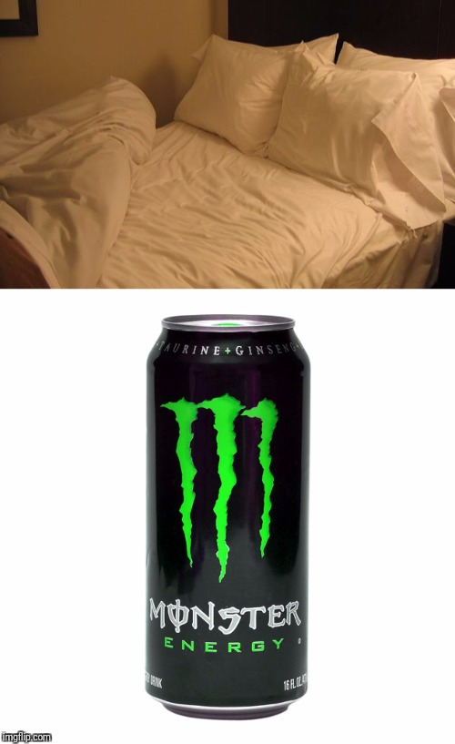 Get it? | image tagged in memes,bed,monster | made w/ Imgflip meme maker