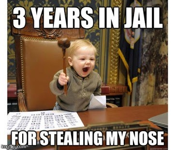image tagged in kid judge | made w/ Imgflip meme maker