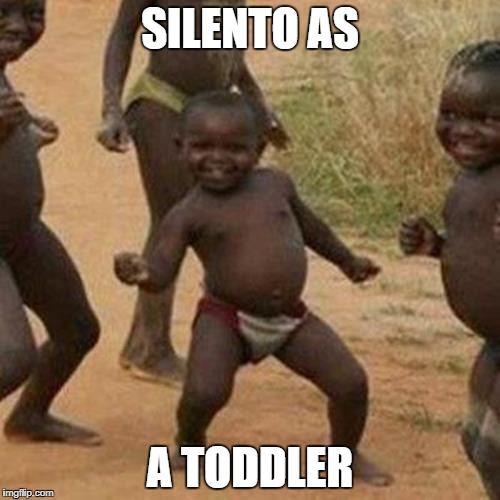 Third World Success Kid Meme | SILENTO AS A TODDLER | image tagged in memes,third world success kid | made w/ Imgflip meme maker