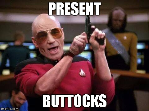 PRESENT BUTTOCKS | made w/ Imgflip meme maker