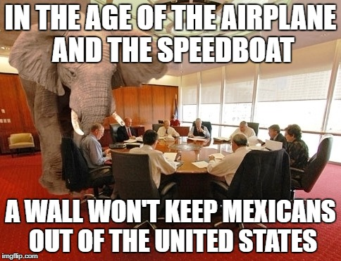 "Where I come from, we call it ""Symbol Politics"" 