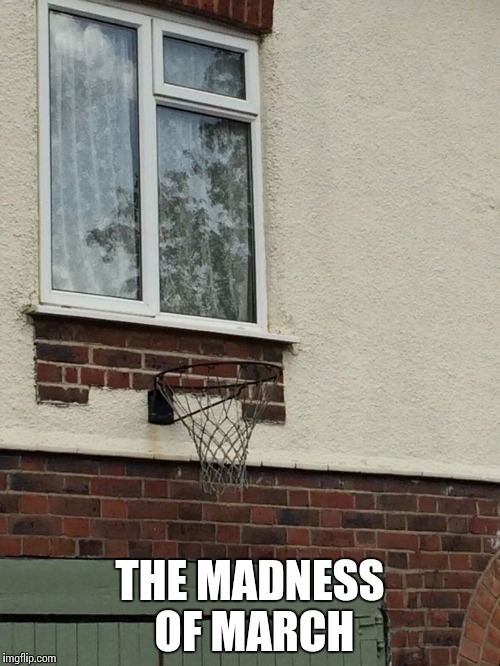 My favorite time of year | THE MADNESS OF MARCH | image tagged in march madness,basketball,hoop,pipe_picasso | made w/ Imgflip meme maker