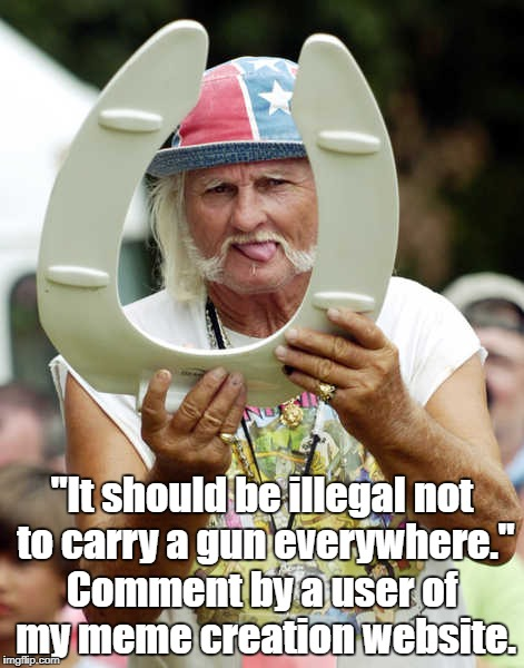 """If This Statement Doesn't Strike You As Crazy, Then You Are"" 