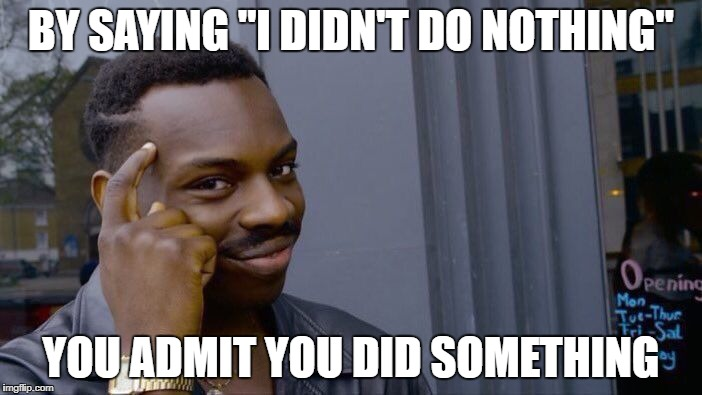 "It is called a ""Double negative"" 