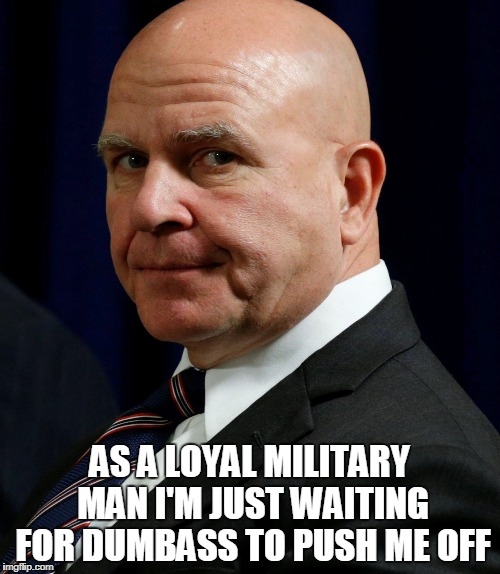 AS A LOYAL MILITARY MAN I'M JUST WAITING FOR DUMBASS TO PUSH ME OFF | made w/ Imgflip meme maker
