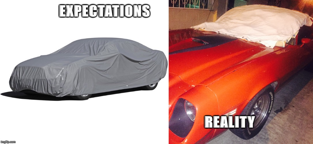Reality check  | EXPECTATIONS REALITY | image tagged in camero,ford mustang,muscle car,wtf,ayy lmao,lmao | made w/ Imgflip meme maker
