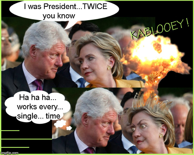 ...& Hillary's Brain goes Kablooey ! | image tagged in hillary jail,current events,politics lol,funny memes,political meme,donald trump approves | made w/ Imgflip meme maker