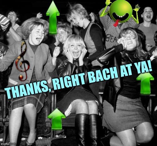 Response to a Musical Meme; when Autocorrect makes its own pun... | image tagged in spell check,autocorrect,i'll be back,bach,music joke,rock n roll | made w/ Imgflip meme maker