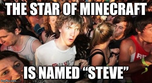 "God Made Adam for Eve Not Adam for Steve? | THE STAR OF MINECRAFT IS NAMED ""STEVE"" 