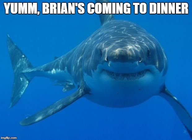 YUMM, BRIAN'S COMING TO DINNER | made w/ Imgflip meme maker