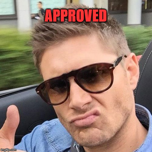 APPROVED | made w/ Imgflip meme maker