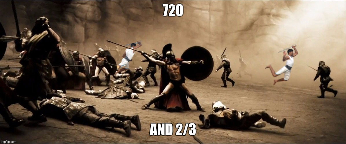 720 AND 2/3 | made w/ Imgflip meme maker