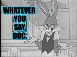 WHATEVER YOU SAY, DOC. | made w/ Imgflip meme maker